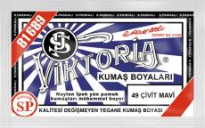 VİKTORİA - Viktoria Toz Kumaş Boyası 49 Çivit Mavi