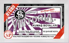 VİKTORİA - Viktoria Toz Kumaş Boyası 53 Şarabi Koyu