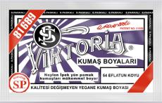 VİKTORİA - Viktoria Toz Kumaş Boyası 54 Eflatun Koyu