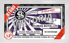 VİKTORİA - Viktoria Toz Kumaş Boyası 55 Menekşe