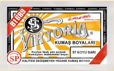 VİKTORİA - Viktoria Toz Kumaş Boyası 57 K.Sarı