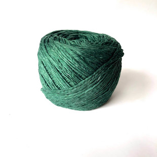 HOBİPOP - Yumuşak Kağıt İp 150 Gram Zümrüt Yeşil